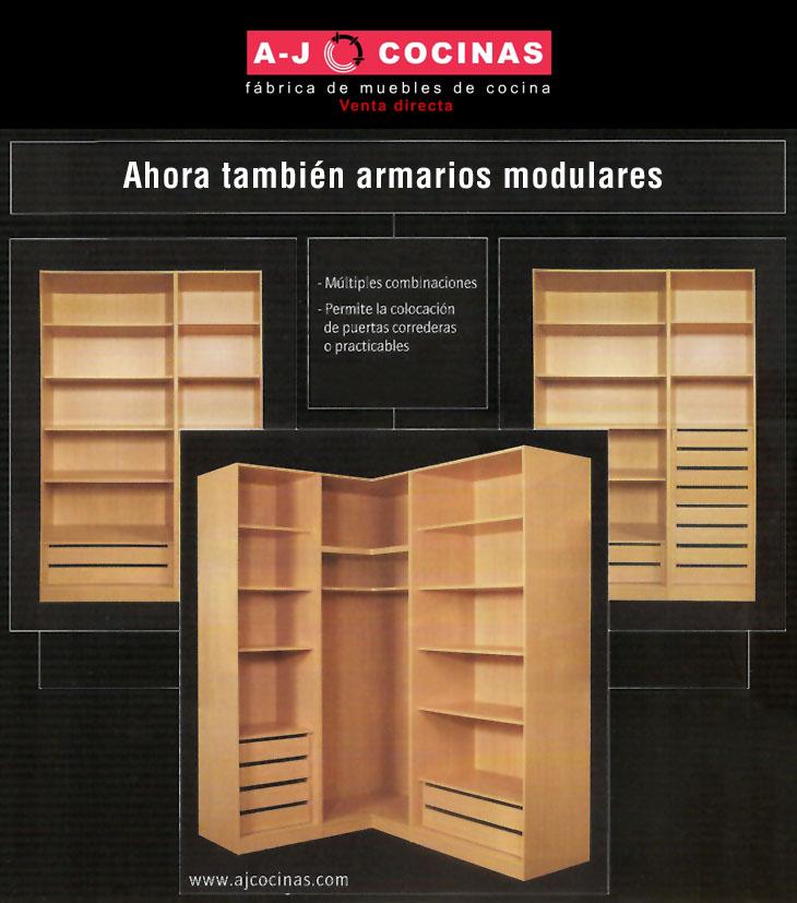 Armarios modulares for Armarios modulares baratos